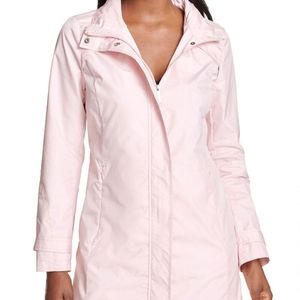 TAKE 50% OFF DKNY Pink Packable Rain Jacket